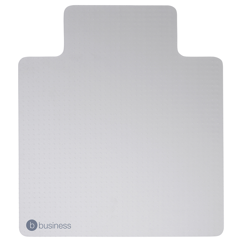Business Lipped Carpet Chairmat PVC 900x1200mm Clear (Pack of 1)