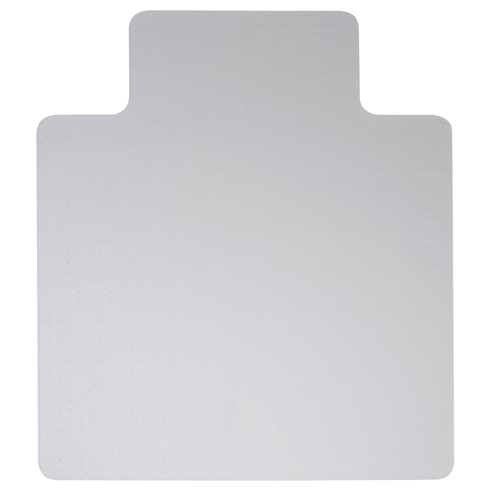 Business Lipped Hard Floor Chairmat PVC 900x1200mm Clear (Pack of 1)