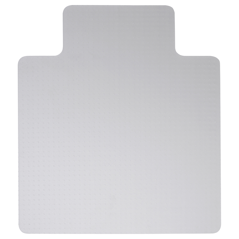 Business Lipped Hard Floor Chairmat PVC 1150x1340mm Clear (Pack of 1)