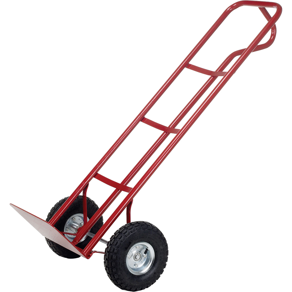Business Sack Truck P Handled Steel Frame Pneumatic Wheels Capacity 200kg Red (Pack of 1)