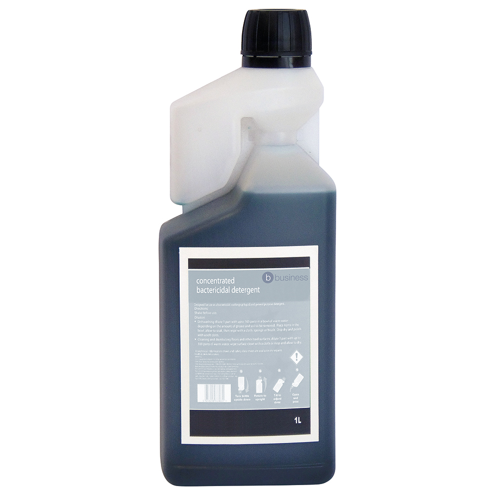 business Facilities Concentrated Bactericidal Detergent 1 Litre