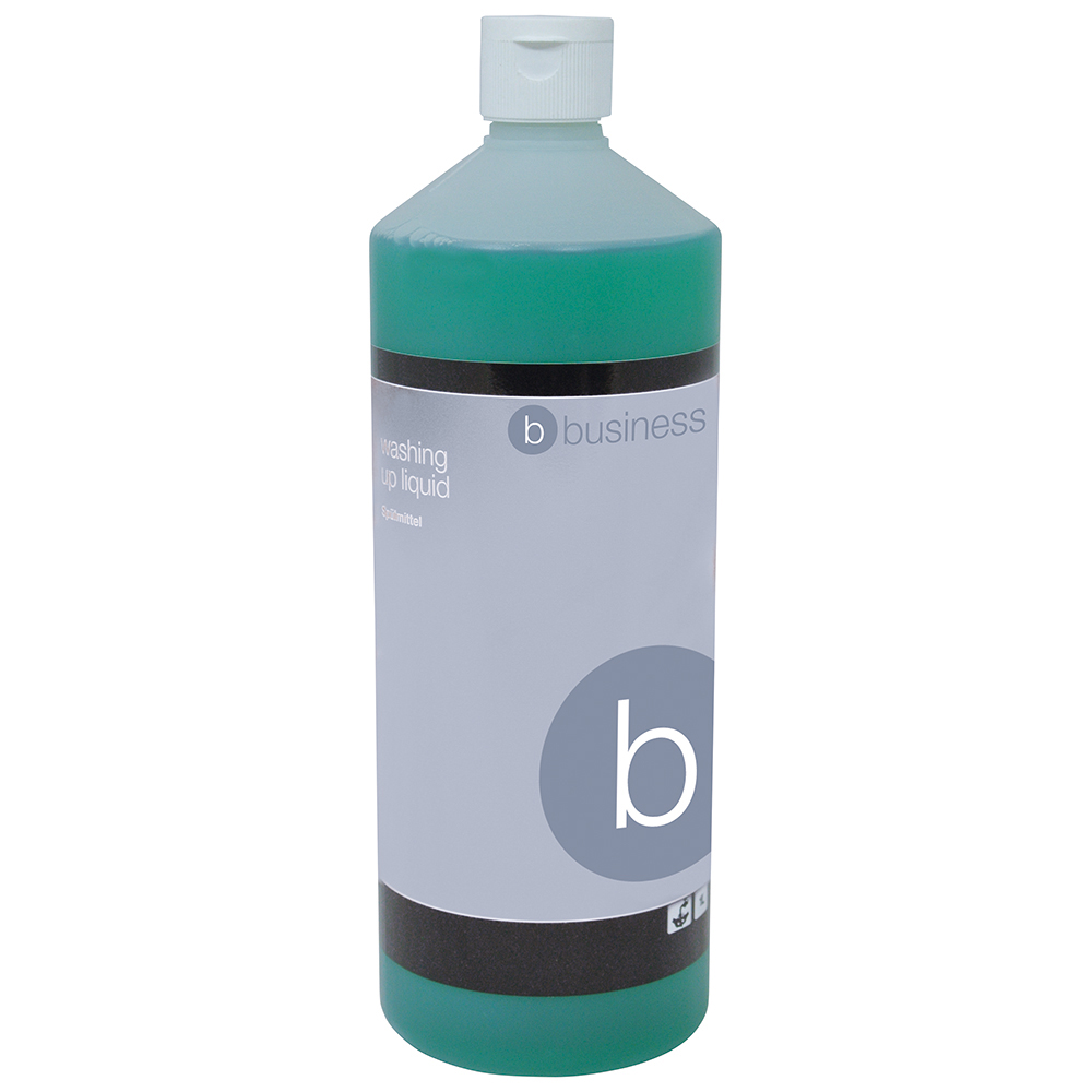 Business Facilities Washing-up Liquid Lemon 1 Litre