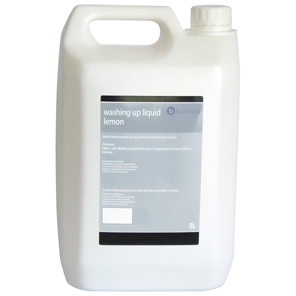 Business Facilities Washing-up Liquid Lemon 5 Litres