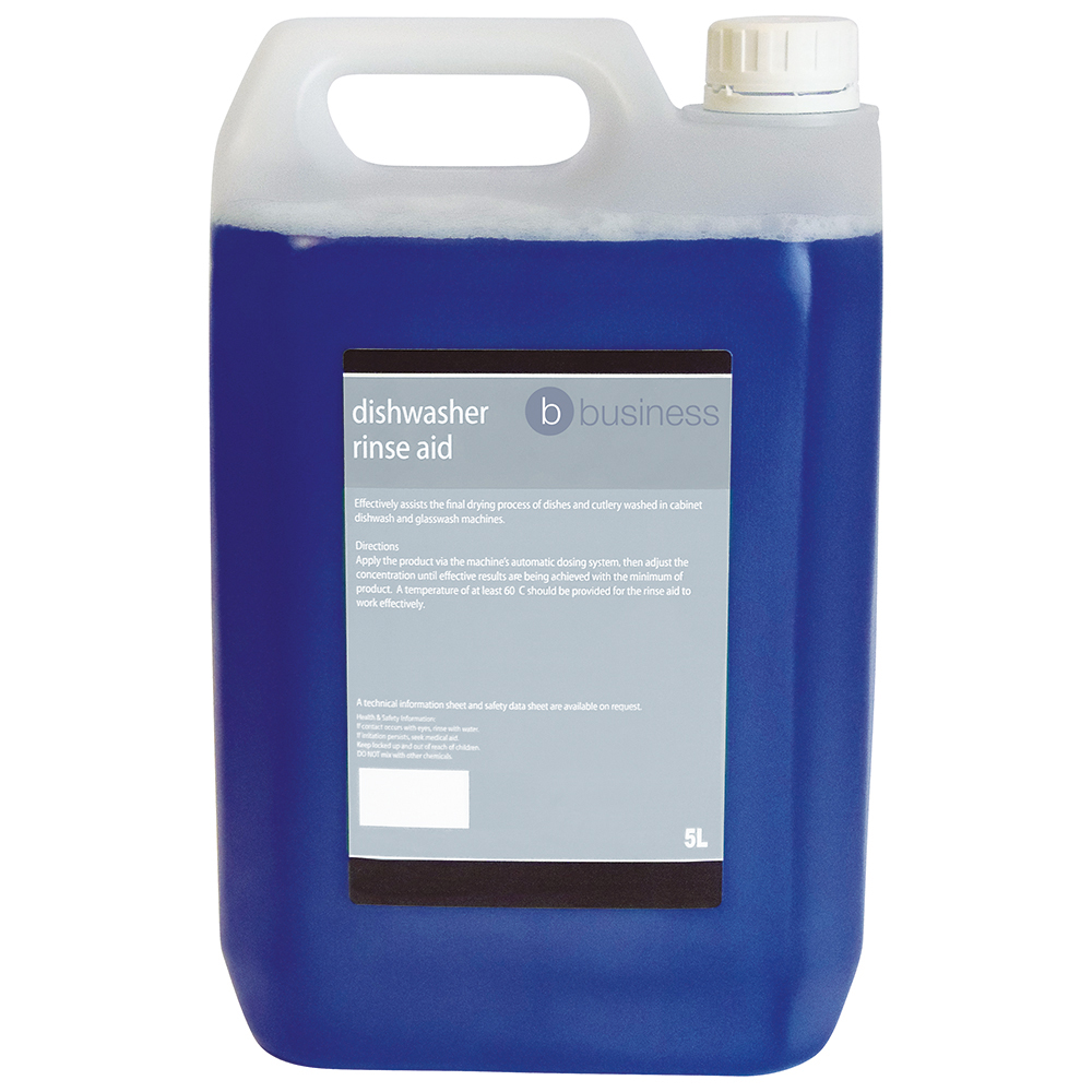 Business Facilities Dishwasher Rinse Aid 5 Litres