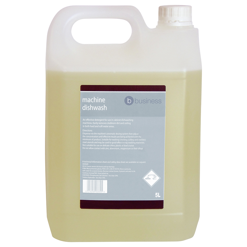 Business Facilities Machine Dishwash Liquid Detergent 5 Litres