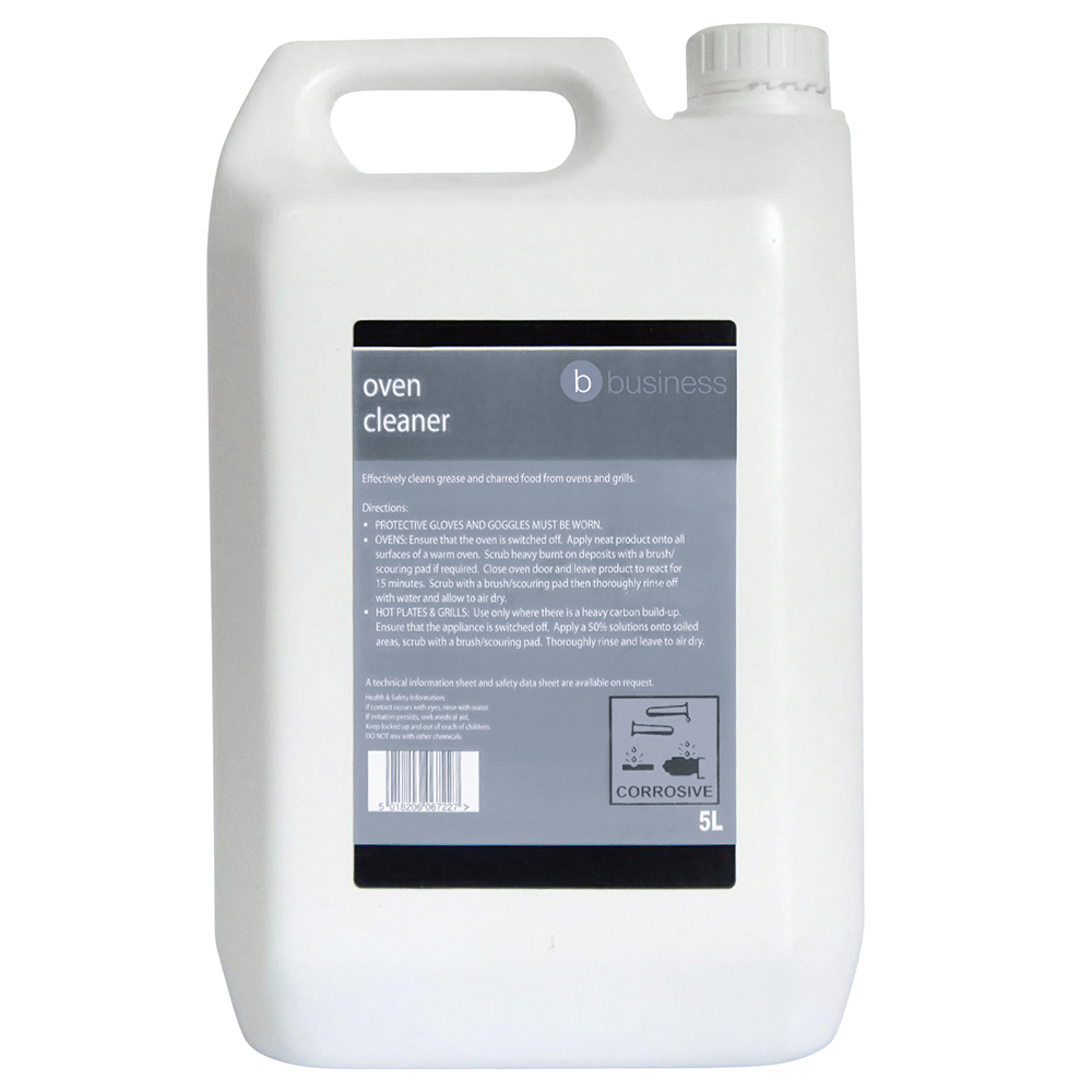 Business Heavy-duty Oven Cleaner 5 Litres (Pack of 1)