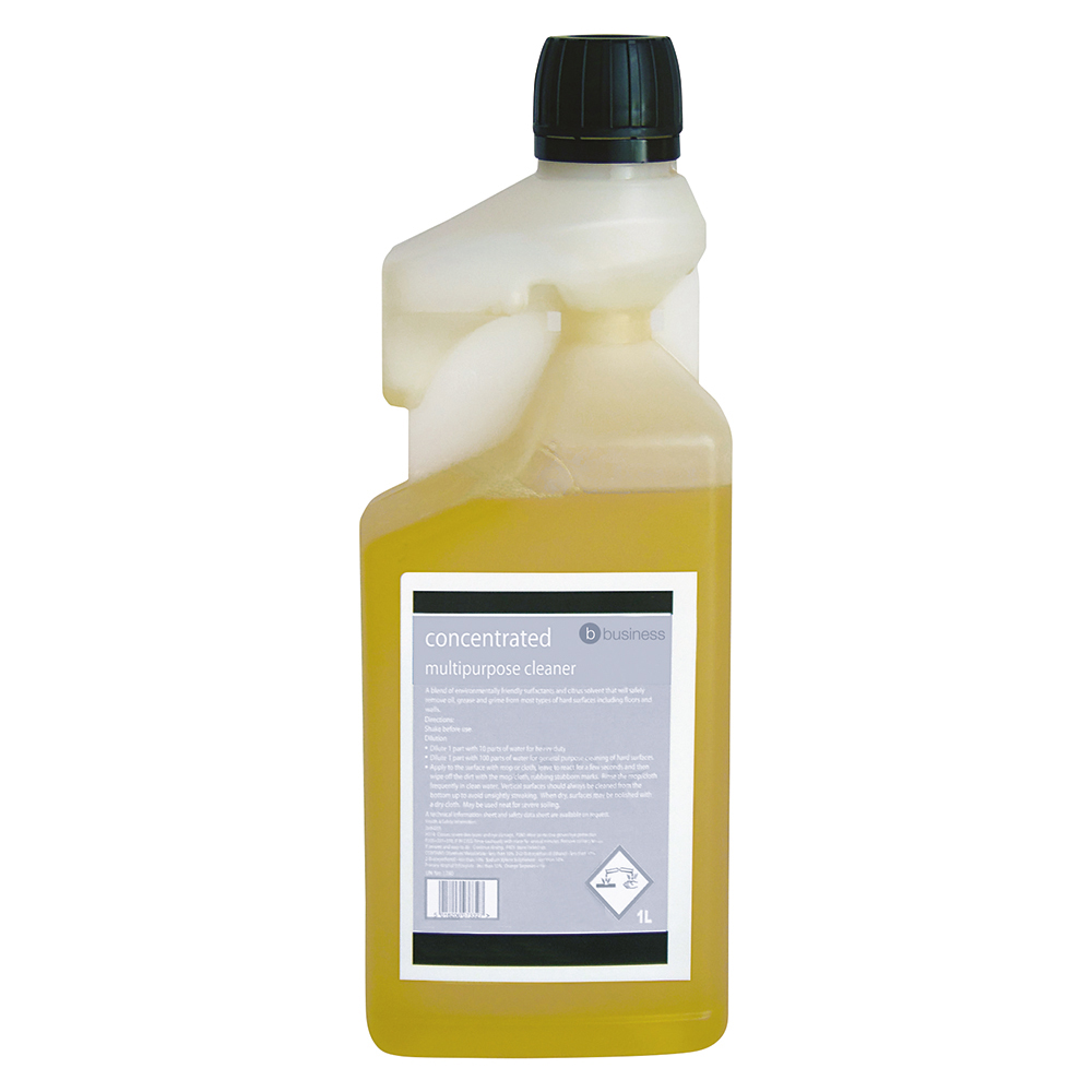 Business Concentrated Multipurpose Cleaner 1 Litre (Pack of 1)