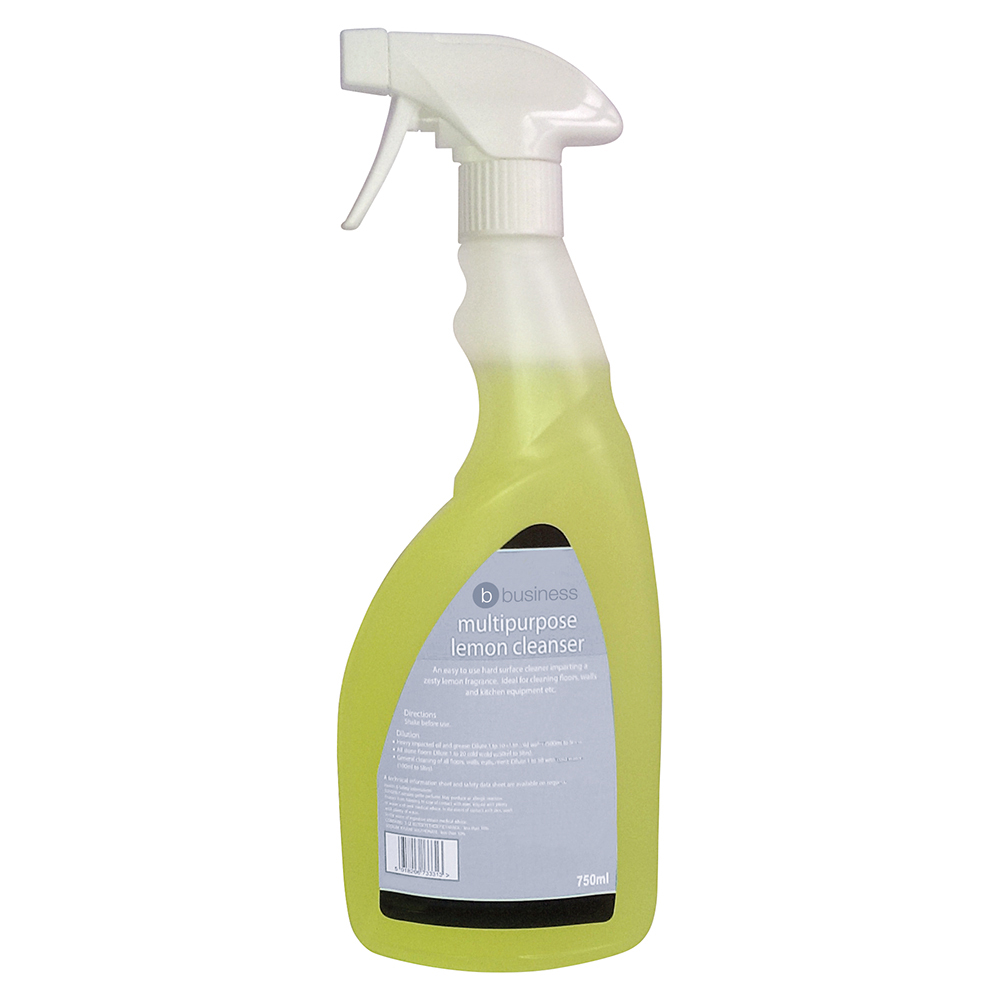 Business Multipurpose Cleaner Lemon 750ml (Pack of 1)