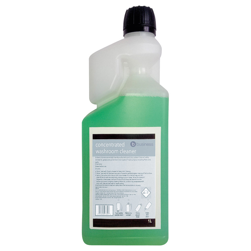 Business Concentrated Washroom Cleaner 1 Litre (Pack of 1)