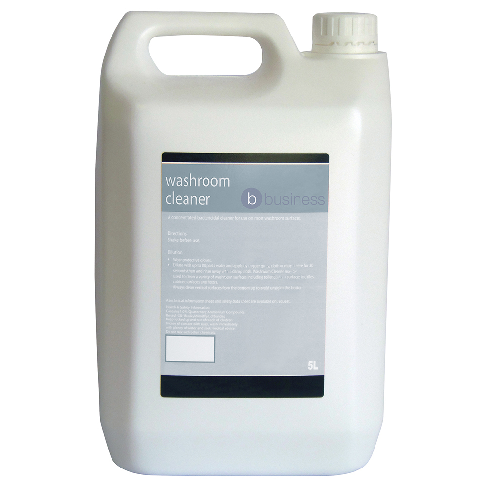 Business Concentrated Washroom Cleaner 5 Litre (Pack of 1)