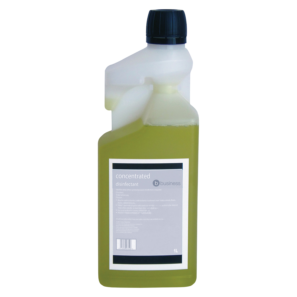 Business Concentrated Disinfectant Citrus 1 Litre (Pack of 1)