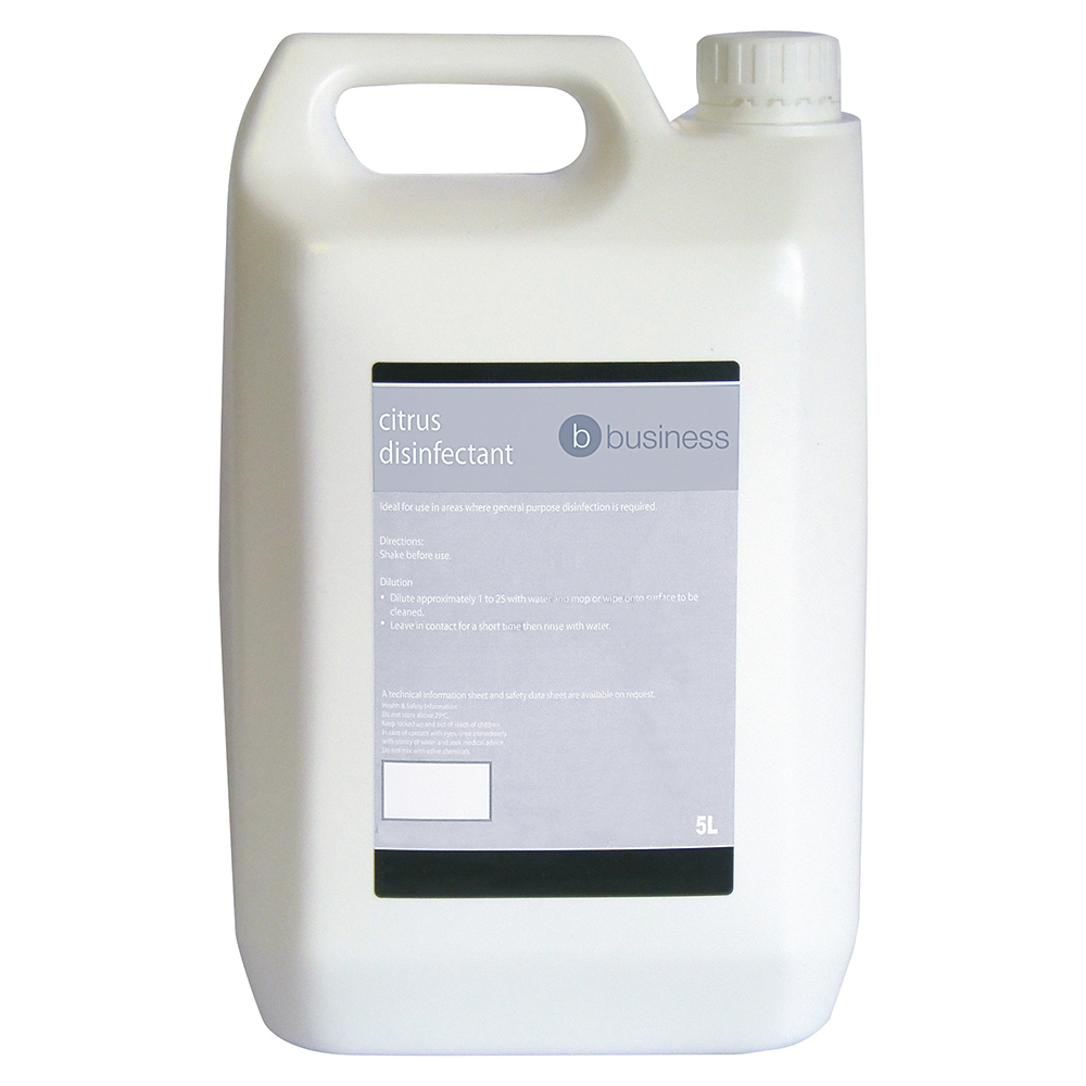 Business Facilities Concentrated Citrus Disinfectant 5 Litres