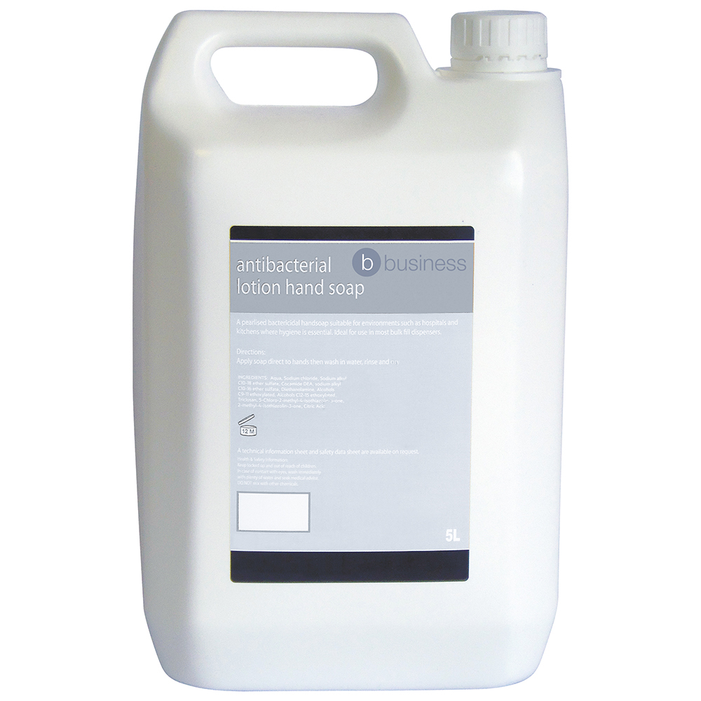 Business Antibacterial Lotion Hand Soap 5 Litre (Pack of 1)