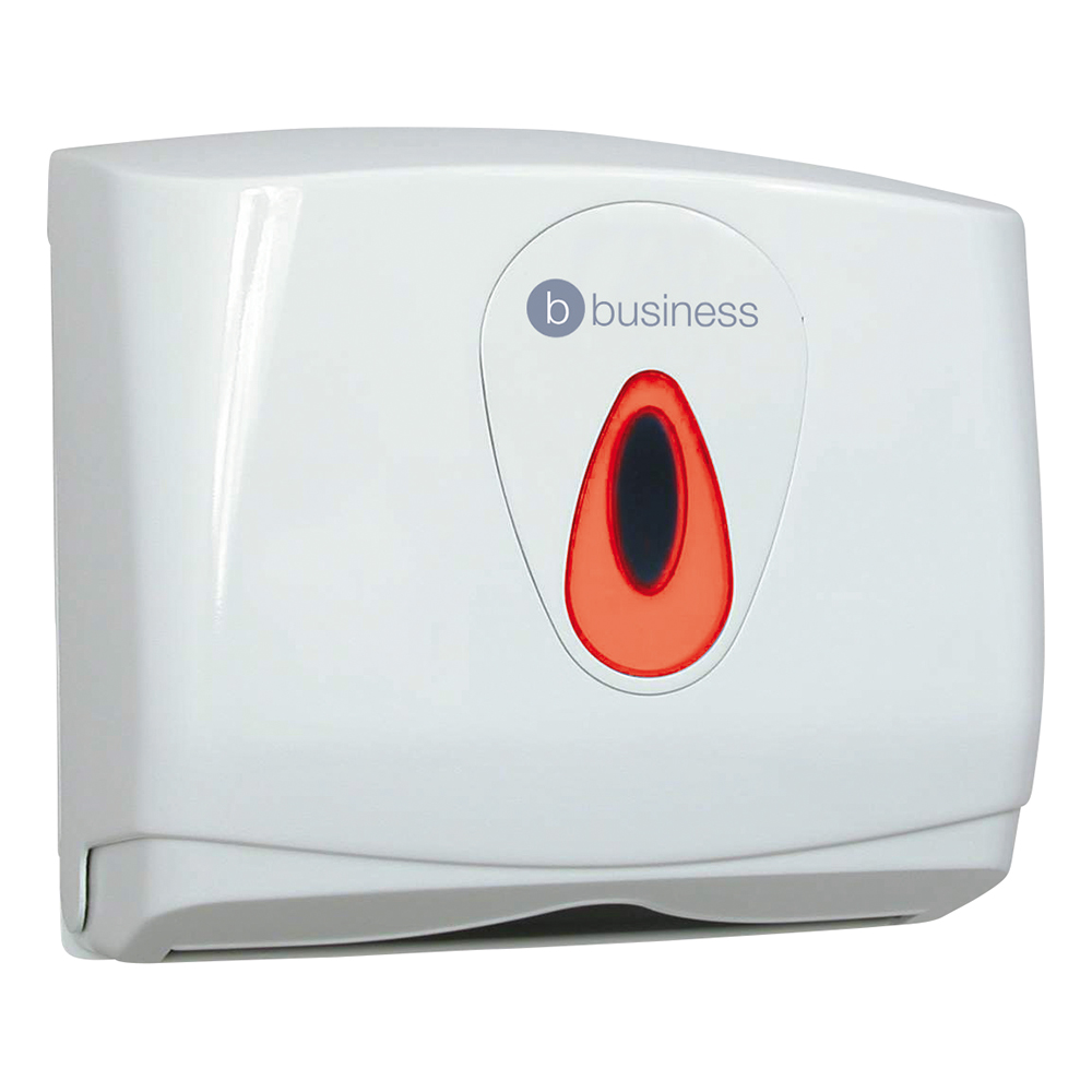 business Facilities Hand Towel Dispenser Small W290xD145xH265mm White