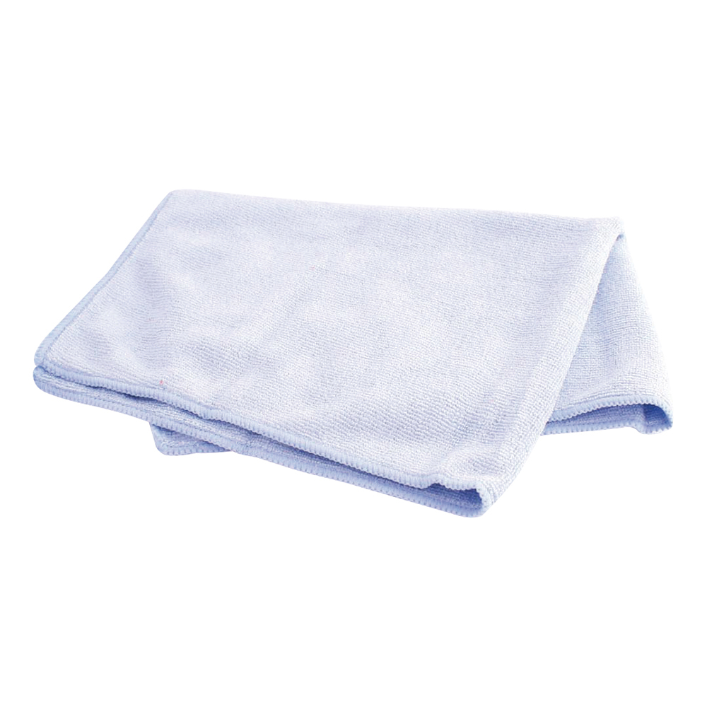 Business Facilities Microfibre Cleaning Cloths Colour-coded for Dry or Damp Multi-surface Use Blue Pack 6