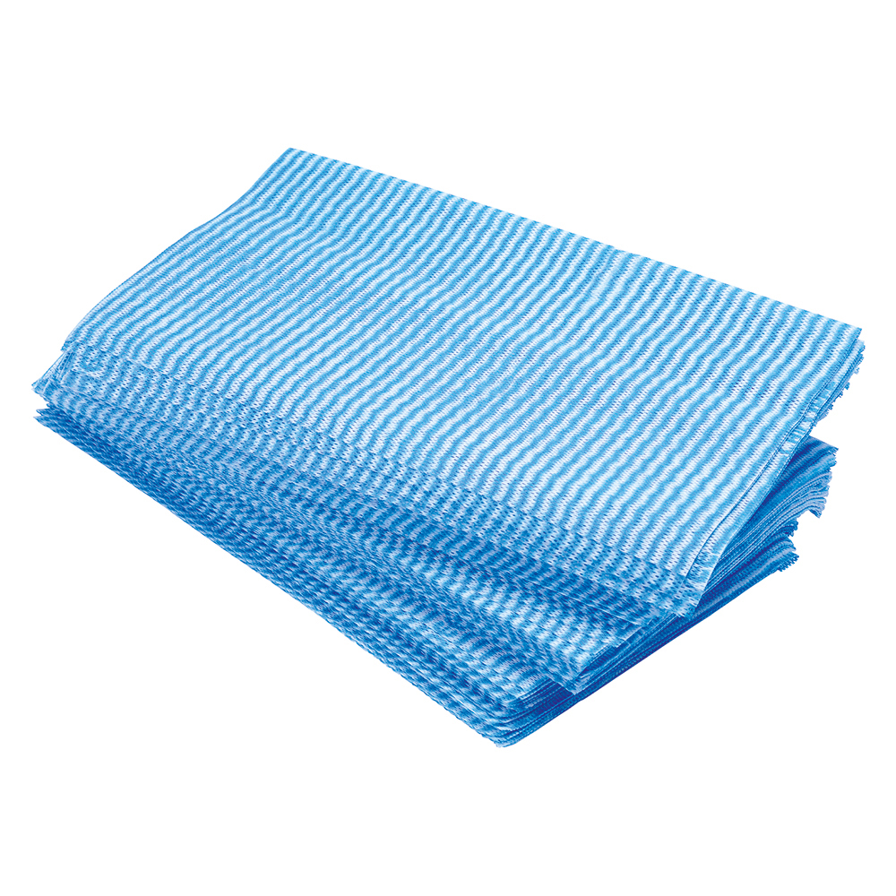 Business Facilities Large All Purpose cloths 610x360mm Blue Pack 50