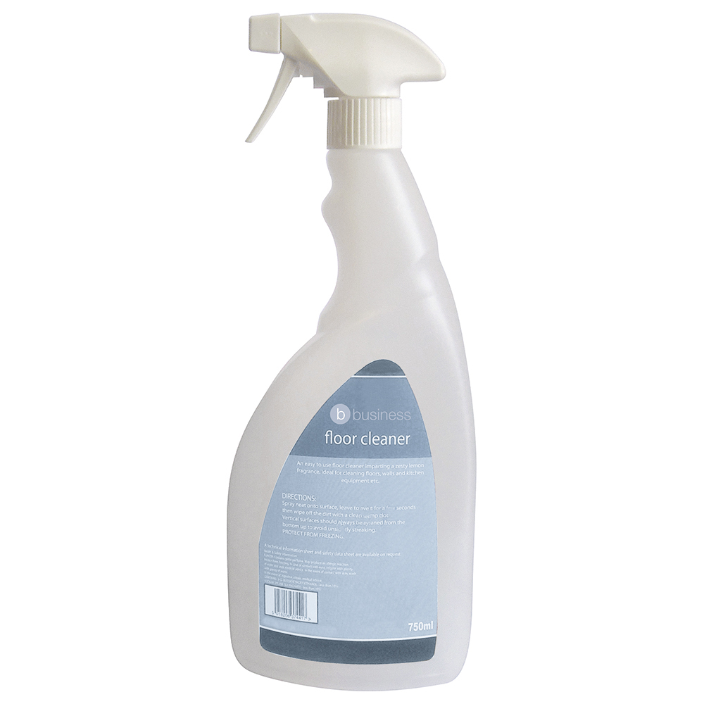 Business Empty Bottle for Concentrated Floor Cleaner Lemon 750ml (Pack of 1)