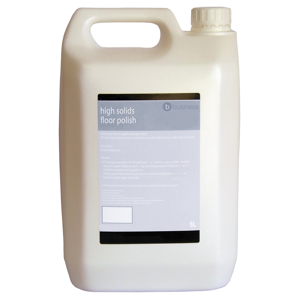 Business Facilities High Solids Floor Polish 5 Litres