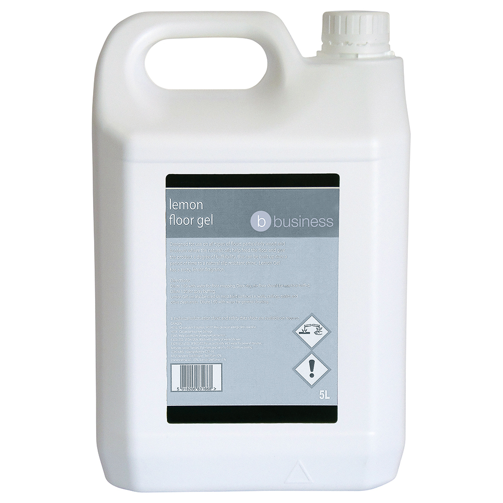 Business Facilities Lemon Floor Gel 5 Litres