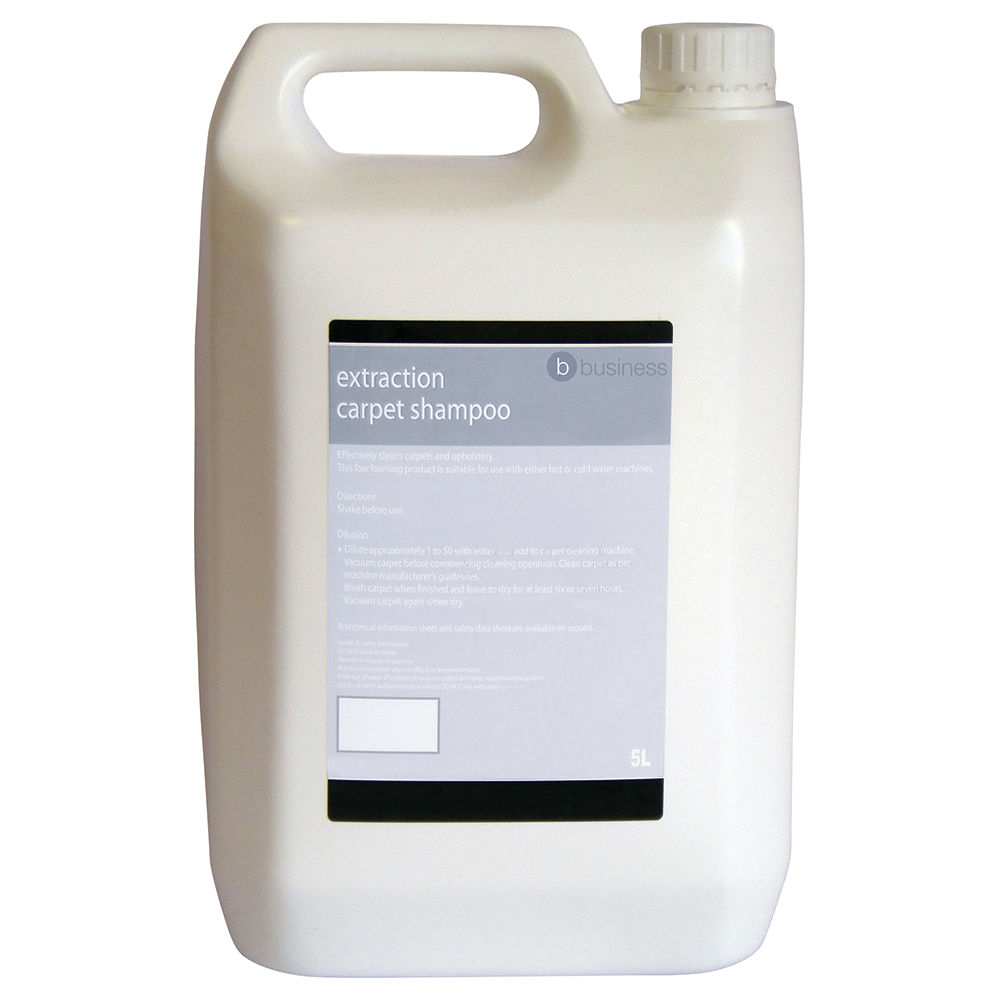 Business Extraction Carpet Shampoo 5 Litre (Pack of 1)