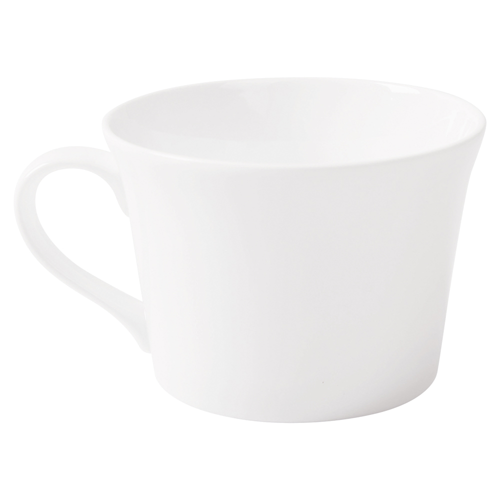Business Fine Bone China Teacup White (Pack of 6)