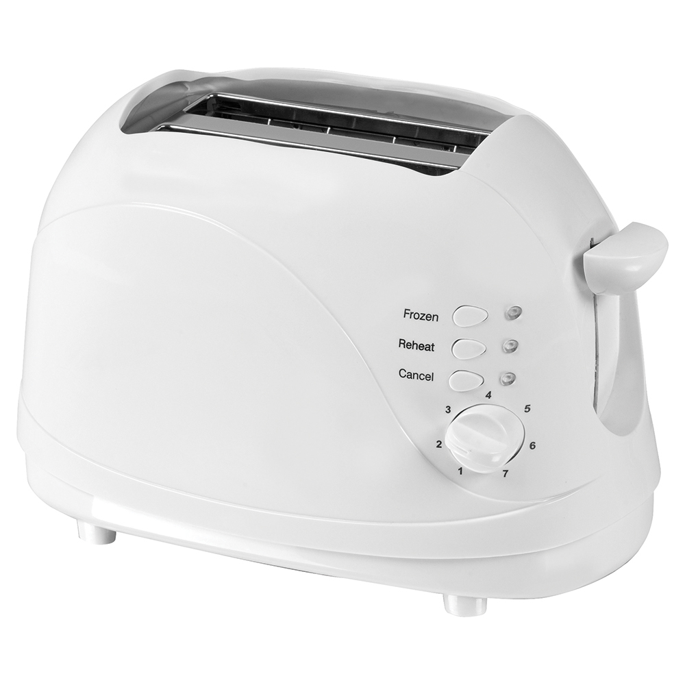 business Facilities Toaster Cool Wall 2 Slice 700W White