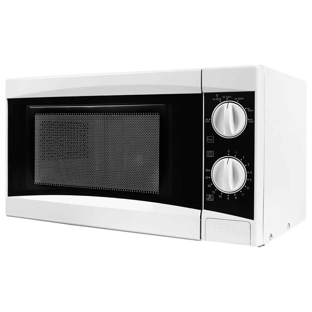 Business Manual Microwave 800w 20 Litre White (Pack of 1)