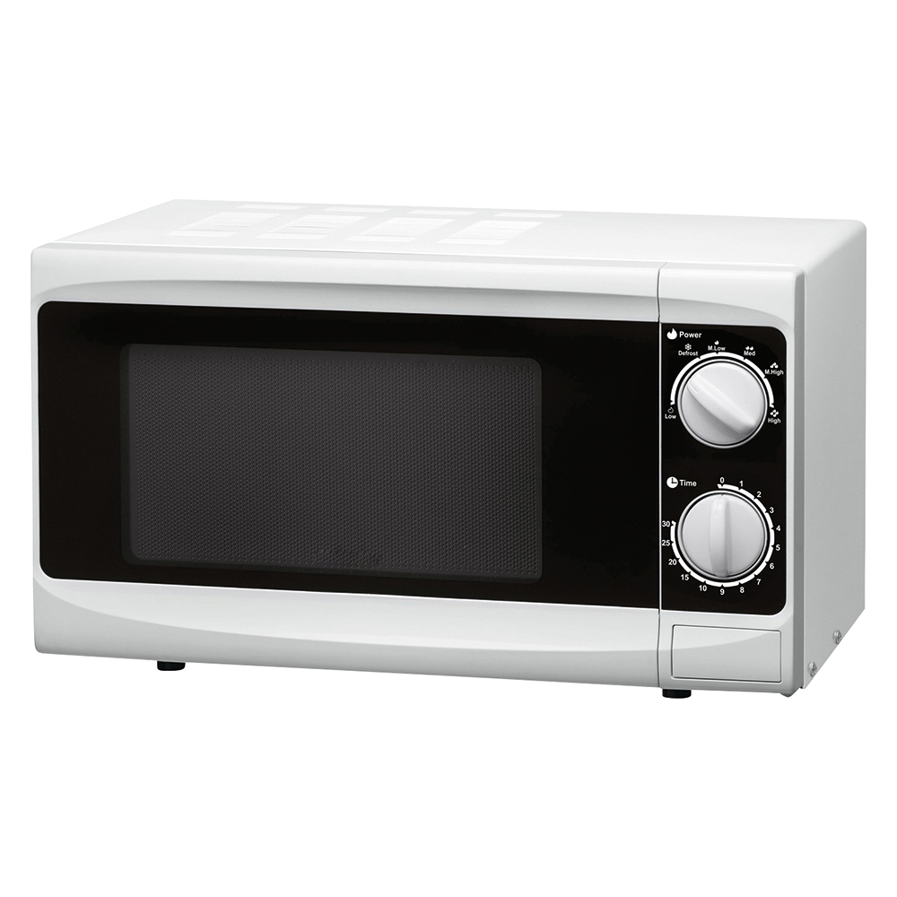 Business Facilities Manual Microwave Defrost and 5 Power Levels 800W 20 Litre White