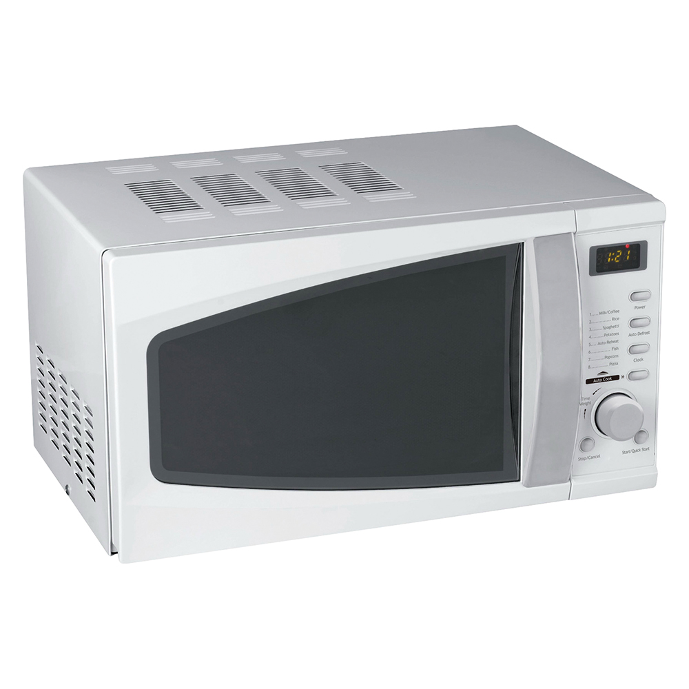 Business Facilities Microwave Oven 800W Digital 20 Litre White