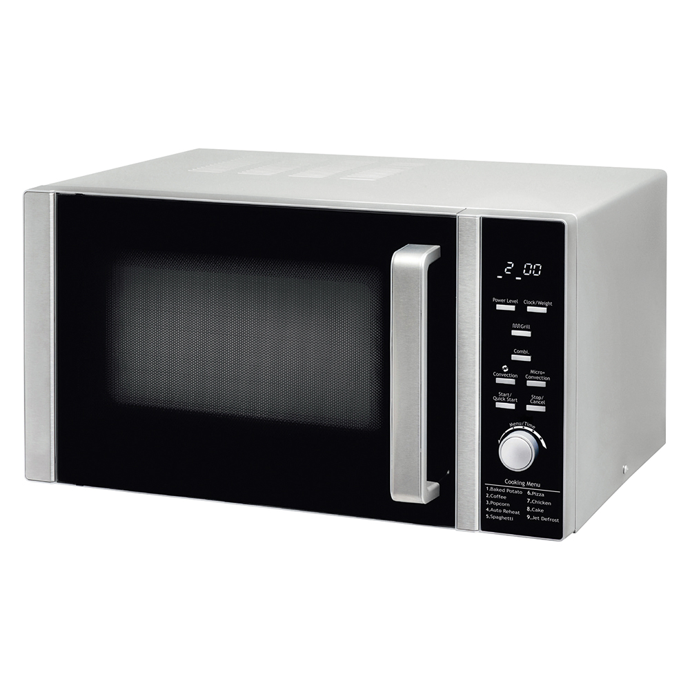 business Facilities Microwave Combination Oven and Grill 900W 30 Litre Stainless Steel