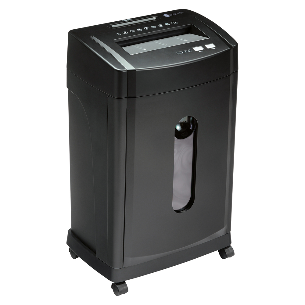 Business CC24 Shredder Cross Cut P-3 Security 28 Litre Black (Pack of 1)