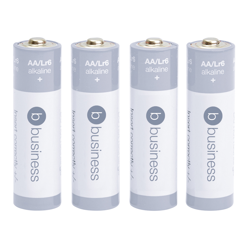 Business Batteries AA / LR06 (Pack of 4)