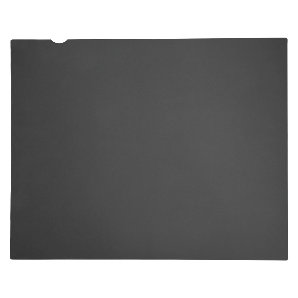 Business Privacy Filter 17inch 4:3 Transparent/Black (Pack of 1)