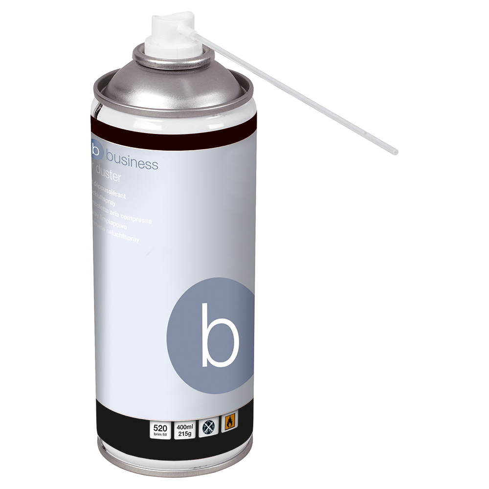 Business Spray Air Duster HFC Free Compressed Gas 400ml (Pack of 1)