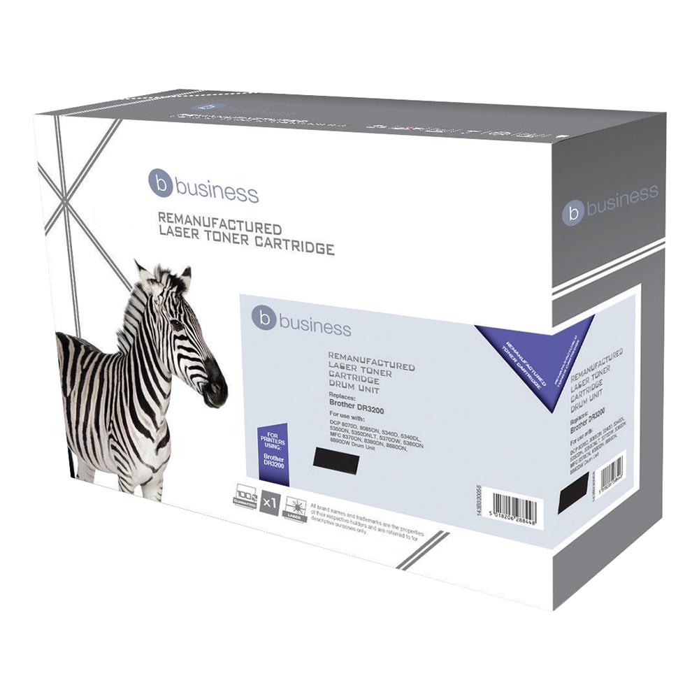 Business Compatible Brother Laser Drum Unit DR3200 Black (Pack of 1)