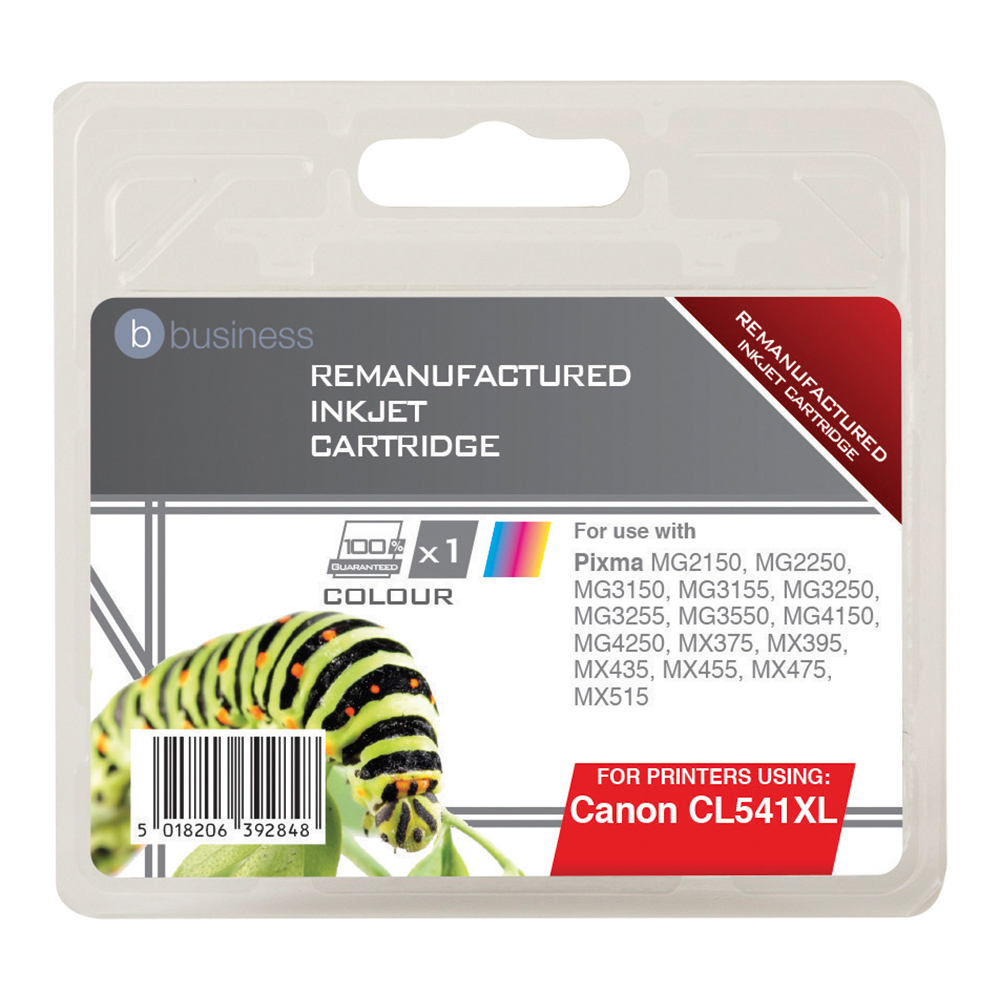 Business Compatible Canon Inkjet Cartridge CL541-XL 3 Colour (Pack of 1)