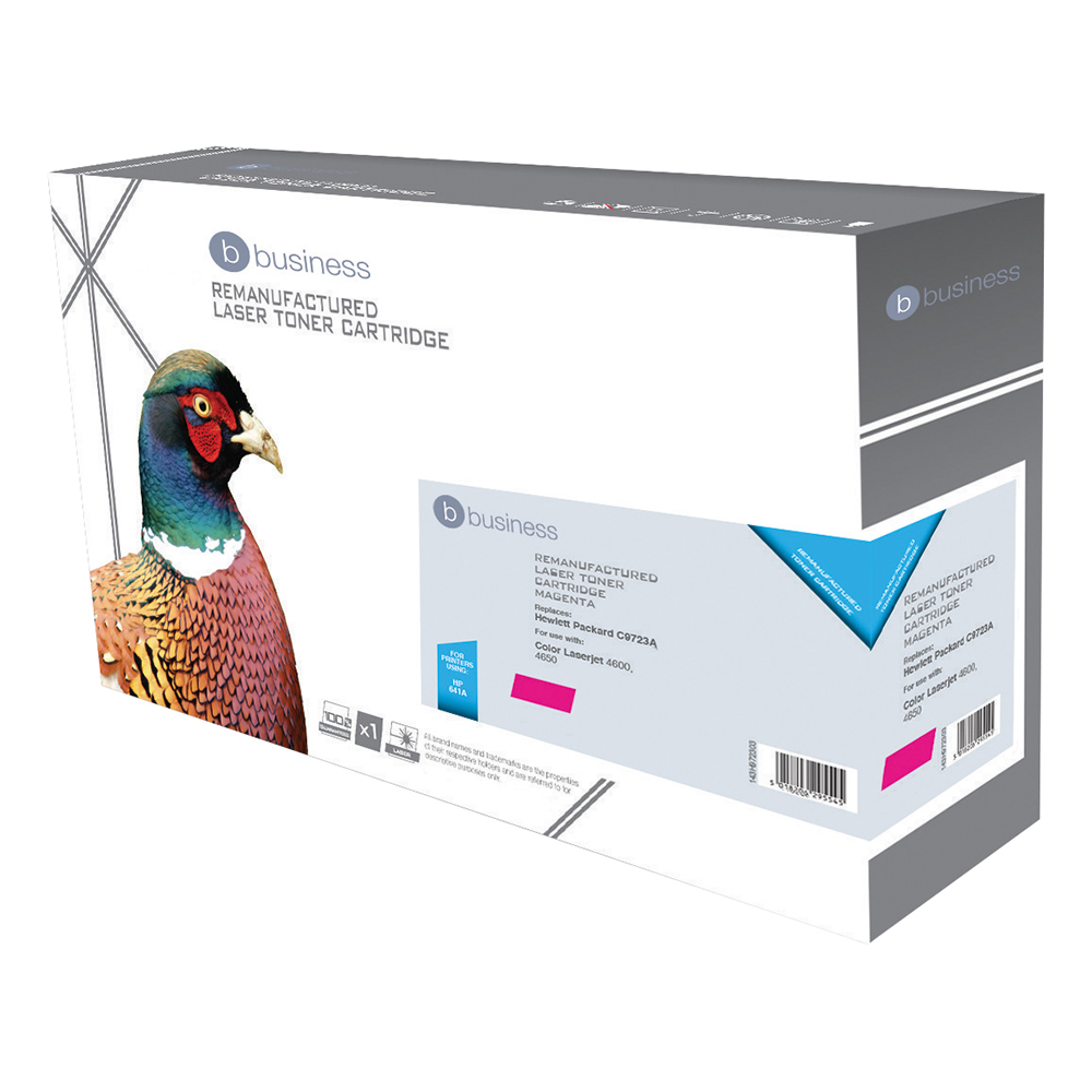 Business Compatible HP Laser Toner Cartridge 641A Magenta (Pack of 1)