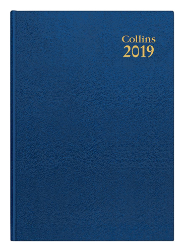 Collins 2019 Wk/Vw A5 Ryl Diary 35 Blue
