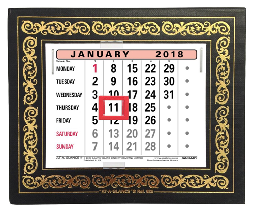 At A Glance 2019 Desk Calendar 825